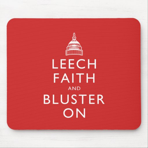 Leech Faith and Bluster On Mouse Pads