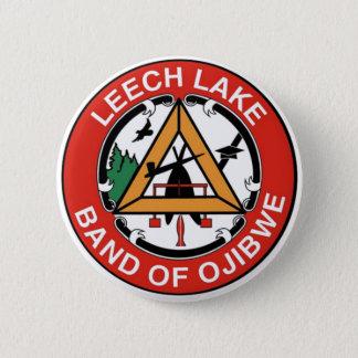 Leech Lake Band of Ojibwe 6 Cm Round Badge
