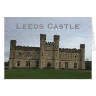 Leeds Castle Card