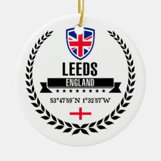 Leeds Ceramic Ornament