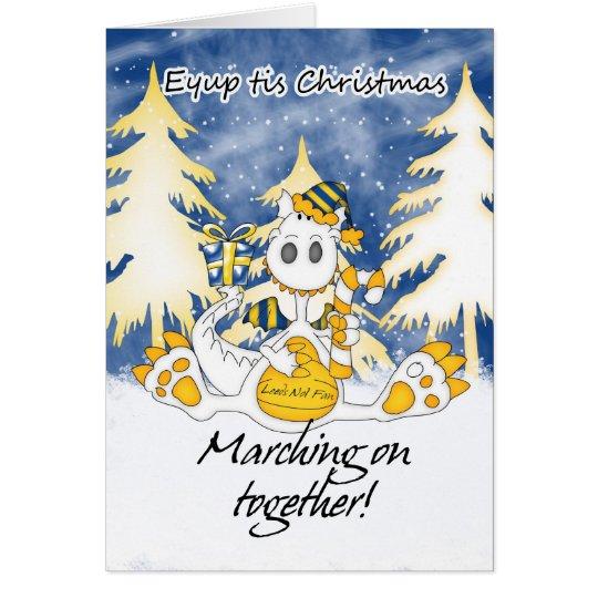 Leeds Christmas Dragon - Eyup tis Christmas Card