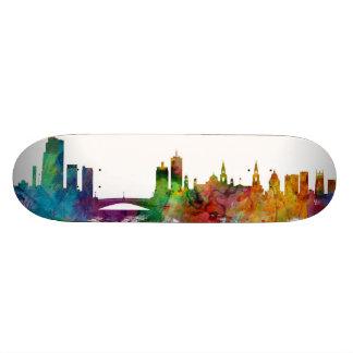 Leeds England Skyline Custom Skate Board