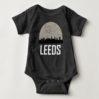Leeds Full Moon Skyline Baby Bodysuit