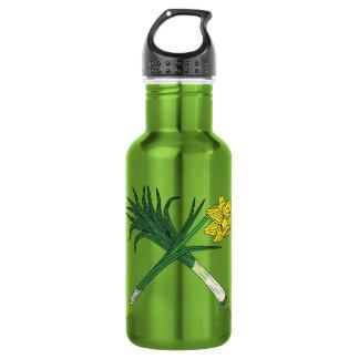 Leek and Daffodil Crossed 532 Ml Water Bottle