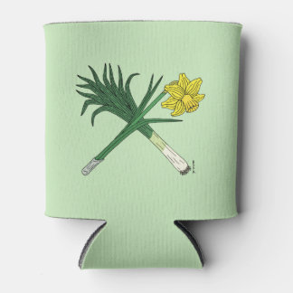 Leek and Daffodil Crossed Can Cooler