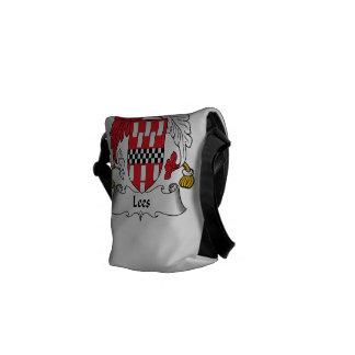 Lees Family Crest Messenger Bag