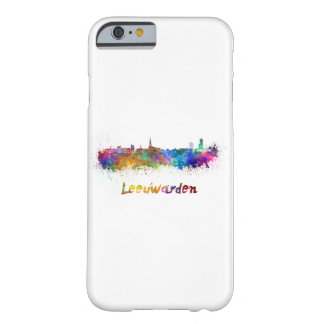 Leeuwarden skyline in watercolor barely there iPhone 6 case
