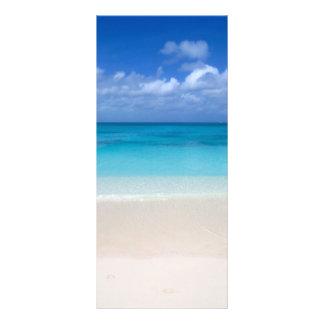 Leeward Beach | Turks and Caicos Photo 10 Cm X 23 Cm Rack Card