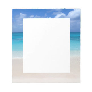Leeward Beach | Turks and Caicos Photo Notepad