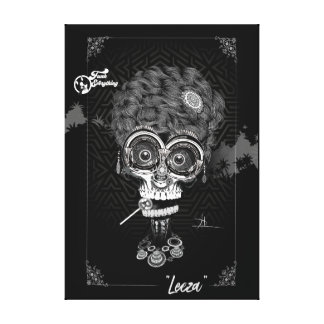 Leeza Poster Canvas Print