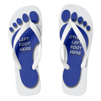Left and Other Left Foot Thongs
