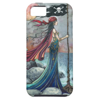 Left Behind Gothic Pirate Woman Case For The iPhone 5