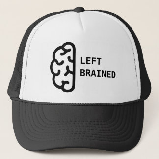Left Brained Trucker Hat