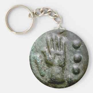 Left Hand Aes Grave Quadrans Key Ring
