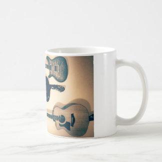 Left-handed guitars coffee mug