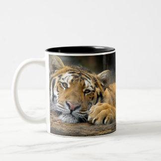 Left-Handed Tiger Mug
