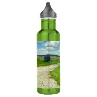 Left my Heart in Wisconsin,Water Bottle