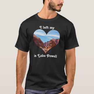 Left My Heart Lake Powell Arizona Utah Colorado T-Shirt
