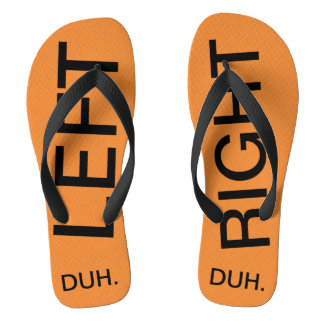 LEFT-RIGHT THONGS