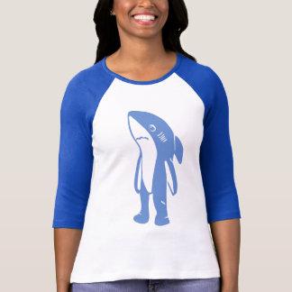Left Shark Ringer Shirt