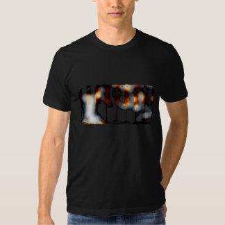 Left Side of the Stage artistic (black) T-shirt