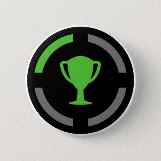 Left the Couch - Achievement Unlocked 6 Cm Round Badge