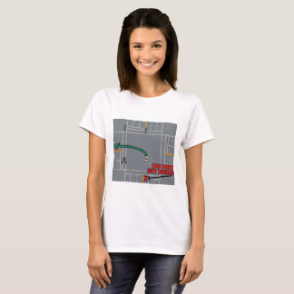 Left turn at intersection T-Shirt