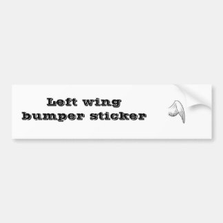 Left Wing, Left wing bumper sticker