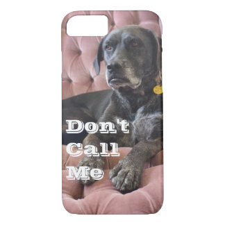 """Lefty """"Don't Call Me"""" iPhone Case"""