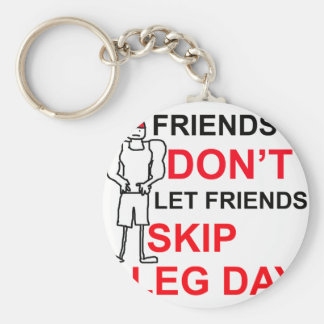 LEG DAY copy png Keychains