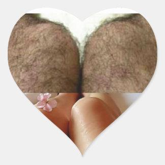 Leg Selfies Vs Sausages... Heart Sticker