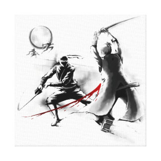 Legacy of the Shadow Warrior Canvas Print