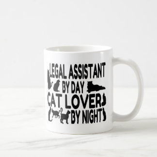Legal Assistant Cat Lover Coffee Mug