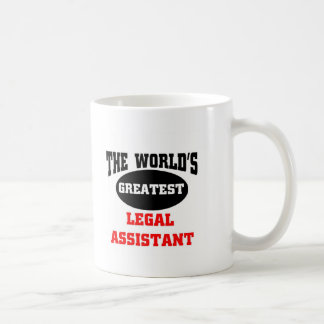 Legal assistant coffee mug