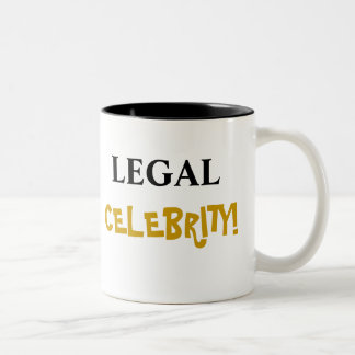 Legal Celebrity! Add Your Name Mugs