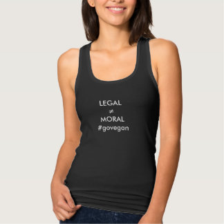 legal doesn't mean its moral singlet