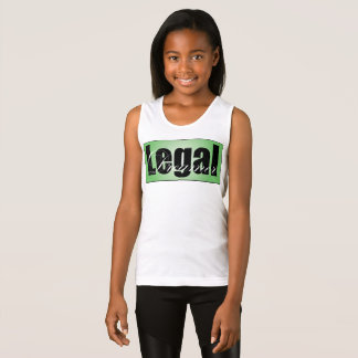 Legal Dreamer Girls Tank Top