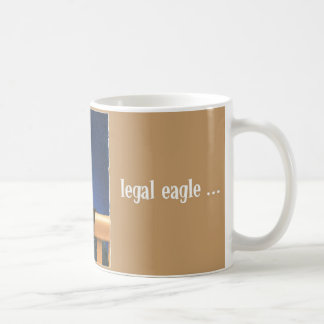 Legal eagle coffee mug