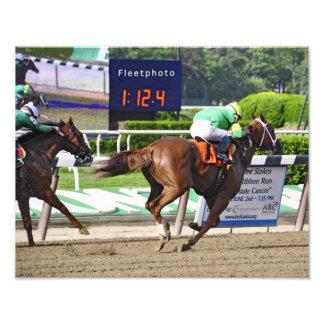 Legal Lady winning at Belmont Park Photo