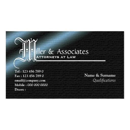 Legal law attorney lawyer firm pack of standard business for Law firm business card