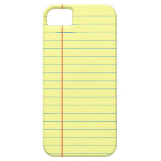 Legal Pad Pattern iPhone 5 Case
