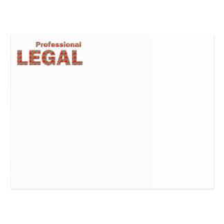 LEGAL professional Law Court Freedom LOWPRICE gift Postcard