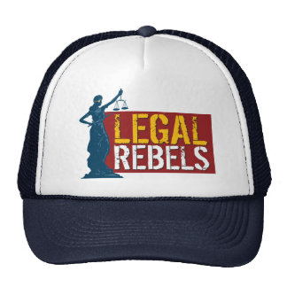 Legal Rebels Ironic Trucker Hat