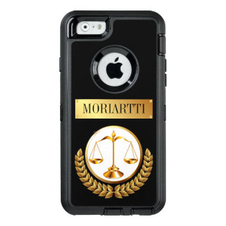 Legal Scales of Justice OtterBox iPhone 6/6s Case
