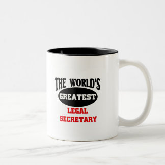 Legal Secretary Two-Tone Coffee Mug