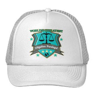 Legal World's Greatest Litigation Paralegal Hat