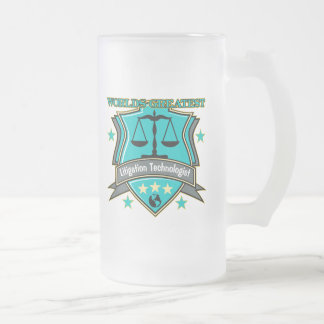 Legal World's Greatest Litigation Technologist Frosted Glass Mug