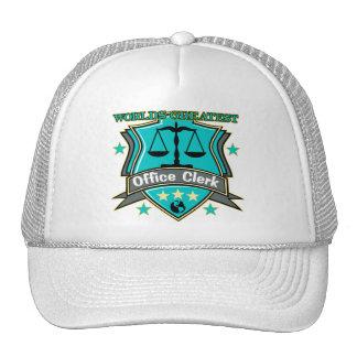 Legal World's Greatest Office Clerk Cap