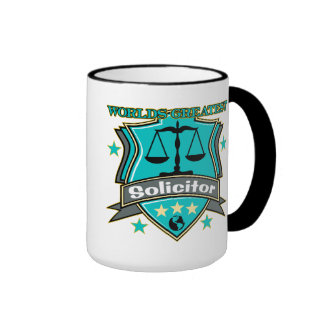 Legal World's Greatest Solicitor Ringer Mug