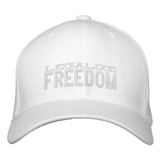 Legalize Freedom Embroidered Hat